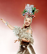Gold Lame Photo Prints - That Night In Rio, Carmen Miranda, 1941 Print by Everett