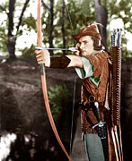 The Adventures Of Robin Hood, Errol Print by Everett