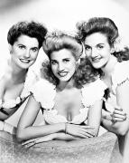 Hairstyle Posters - The Andrews Sisters Poster by Granger