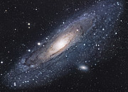 Stellar Metal Prints - The Andromeda Galaxy Metal Print by Robert Gendler