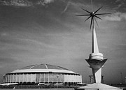 1960s Candids Metal Prints - The Astrodome Aka The Eighth Wonder Metal Print by Everett