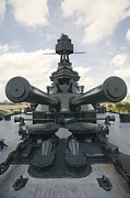 Dreadnought Prints - The Battleship Uss Texas Print by Michael Wood