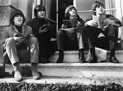Seated Prints - The Beatles, 1965 Print by Granger