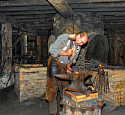 Pennsylvania Art - The Blacksmith 2 by Steve Harrington