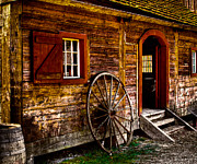 Granary Photos - The Blacksmith Shop by David Patterson