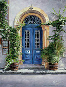 Classic Hollywood Originals - The Blue Door by Theo Michael