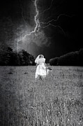 Thunderstorm Prints - The Bride Print by Joana Kruse
