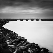 Normandy Prints - The Bridge Print by Nina Papiorek