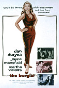 1957 Movies Photos - The Burglar, Jayne Mansfield, Dan by Everett