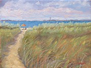 Massachusetts Paintings - The Cape by Laura Lee Zanghetti