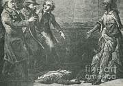 Black Man Prints - The Capture Of Margaret Garner Print by Photo Researchers