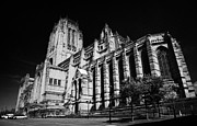 the Cathedral Church of Christ Liverpool Anglican Cathedral Merseyside England UK Print by Joe Fox