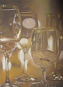 Glasses Pastels - The Celebration by Harvey Rogosin