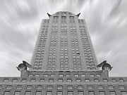 Mike Mcglothlen Posters - The Chrysler Building 2 Poster by Mike McGlothlen