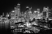 Joannes Framed Prints - The City of Sydney Framed Print by Thomas Joannes