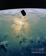 Communication Photos - The Communications Satellite Intelsat by NASA / Science Source