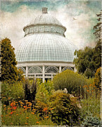 Victorian Digital Art - The Conservatory by Jessica Jenney