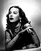 Sequins Framed Prints - The Conspirators, Hedy Lamarr, 1944 Framed Print by Everett