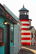 Lighthouse Photo Posters - The Cove Poster by Joann Vitali