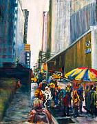 Joan Wulff - The Crowd in NYC