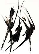 Catherine White Painting Metal Prints - The Dance Metal Print by Catherine Jeltes