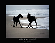 Adams Framed Prints - The Dance Framed Print by Rita Kay Adams