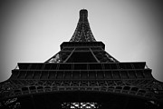 Dslr Prints - The Eiffel Tower Print by Kamil Swiatek
