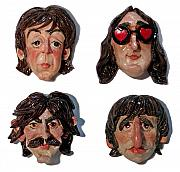 Fab Four  Originals - The Fab Four by Karen Fulk