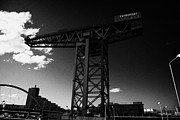 Glasgow Finnieston Crane Prints - the Finnieston Crane in Glasgow Scotland UK Print by Joe Fox