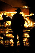 Fighters Photos - The Fireman by Benanne Stiens