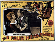 Horsemen Framed Prints - The Four Horsemen Of The Apocalypse Framed Print by Everett