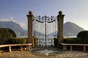 Tor Photo Framed Prints - The gateway to Lago di Lugano Framed Print by Joana Kruse