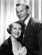 Gracie Posters - The George Burns And Gracie Allen Show Poster by Everett