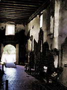 Mission San Javier Del Bac - The Ghostly Nave by Donna Van Vlack
