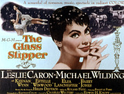 1955 Movies Art - The Glass Slipper, Leslie Caron by Everett