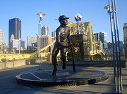 Roberto Clemente Photos - The Great One by Deso Nellski