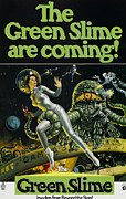 1968 Movies Posters - The Green Slime, 1968 Poster by Everett