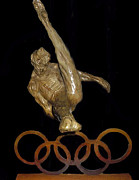 Athletes Sculptures - The Gymnast by Richard MacDonald
