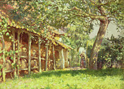 Ponies Paintings - The Gypsy Camp by Harold Harvey
