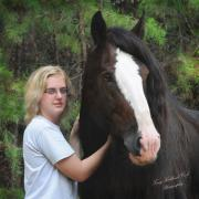 Best Friend Photos - The Heart Horse by Terry Kirkland Cook