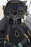 Control Prints - The Interior Cockpit Of An Iraqi Air Print by Terry Moore