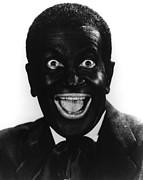 Blackface Prints - The Jazz Singer, Al Jolson, 1927 Print by Everett