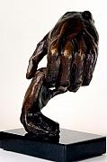 Hands Sculptures - The Journey by Dan Earle
