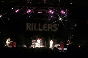 Guitar Art Prints Prints - The Killers  Print by Christopher  Chouinard
