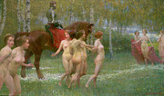 Nudes Art - The Knights Dream by Richard Mauch