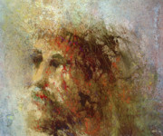 Christ Painting Originals - The Lamb by Andrew King