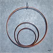 Hoop Painting Prints - The Legacy Print by Horacio Cardozo