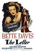 Wbdvd27 Prints - The Letter, Bette Davis, 1940 Print by Everett