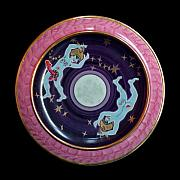 Decoration Ceramics Originals - The light blue Moon. by Vladimir Shipelyov