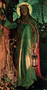 Religious Paintings - The Light of the World by William Holman Hunt